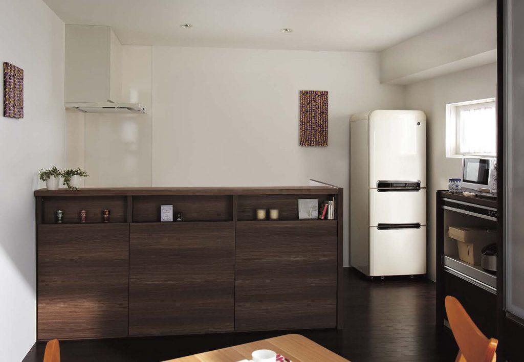 家具になるクリナップのキッチン