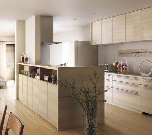対面型キッチンのリフォーム事例