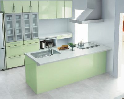 TOTO対面式キッチン