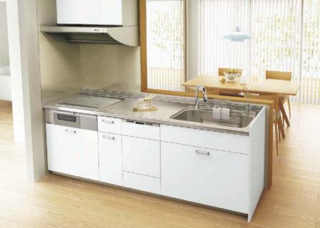 白色のキッチン