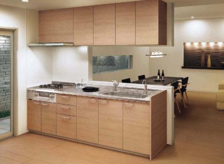 木目のキッチン