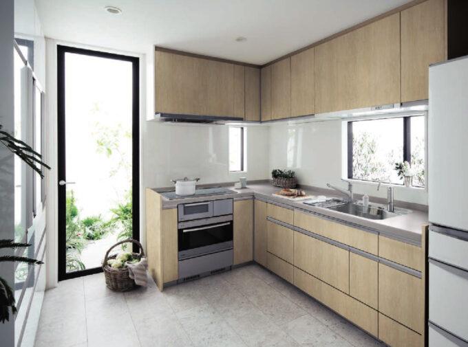 リフォムスL型キッチン