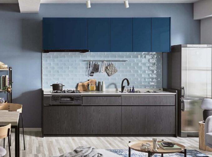 シエラグレー色のキッチン